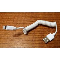 Шнур новый USB-microUSB для мобил и др. гаджетов Apple.