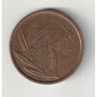 20 франков  1980 года Бельгии