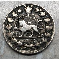 Монета 2000 динаров Иран / Персия 1902-04 гг.