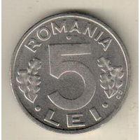 Румыния 5 лей 1992