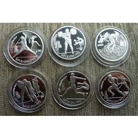 Барселона 1992 год! набор 6 монет-копии супер!!!