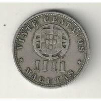 Ангола 4 макута 1927