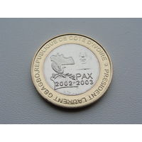 Кот-д'Ивуар.  6000 франков 2003 год UC#201