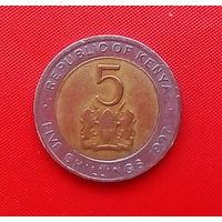 59-27 Кения, 5 шиллингов 1997 г.