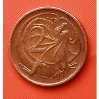 21-02 Австралия, 2 центов 1974 г.