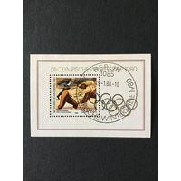 Зимние олимпийские игры. ГДР,1980,блок