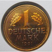 Германия, марка, 1991D? монета-письмо