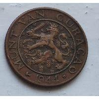 Кюрасао 1 цент, 1944 4-11-16