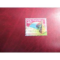 Марки Рождество 1997 год Новая Заландия