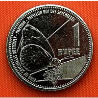 109-07 Сейшелы, 1 рупия 2016 г.