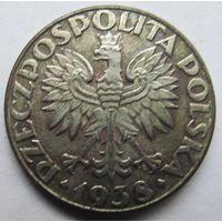 Польша 50 грош 1938