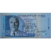 Маврикий 50 рупий 2003 г. (g)