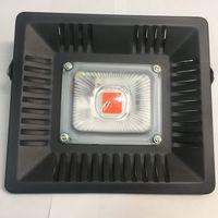 Фито 50 Вт. 220 В. Светодиодная лампа для роста растений. Прожектор с линзой. Светодиод чип. Матрица, светильник, модуль. Полный спектр 380-840 нм