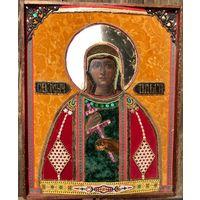 Икона Святая Ольга 19 век. Шедевр. Размер.