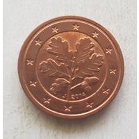 2 евроцента 2014 Германия J