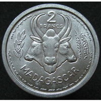 1к Мадагаскар 2 франка 1948 распродажа коллеции