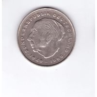 Германия 2 марки, 1972 G Теодор Хойс. Возможен обмен