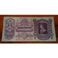 100 пенго Венгрия 1930 год