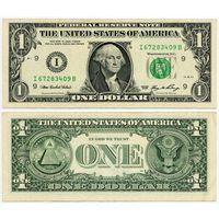 США. 1 доллар (образца 2006 года, I, Миннесота, P523)
