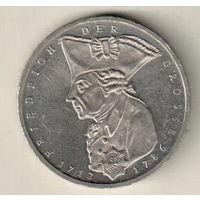 Германия 5 марка 1986 200 лет со дня смерти Фридриха II Великого