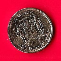 45-17 Ямайка, 1 доллар 2008 г.