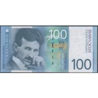 100 динаров 2000г. UNC