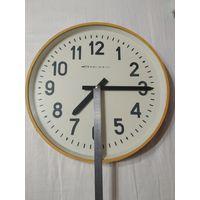 Часы Стрела огромные вторичные стекло 44см СССР