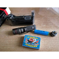 Фонарик UltraFire WY-1 (в комплекте коробка+зарядное+аккумулятор 14500)