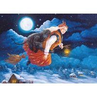Глущенко Ирина Ночь перед Рождеством Сказка Иллюстрация Ведьмочка Беларусь 2019 г