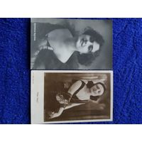 Почтовая открытка Бертини и Pola Negri  Оригинал