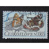 Чехословакия 1987г. Бабочки.