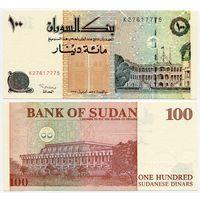 Судан. 100 динар (образца 1994 года, P56, UNC)