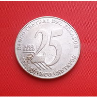 27-35 Эквадор, 25 сентаво 2000 г.