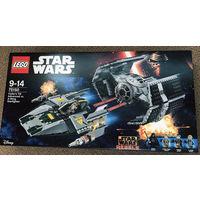 LEGO 75150 Усовершенствованный истребитель TIE Дарта Вейдера против Звёздного истребителя A-Wing Lego Star Wars