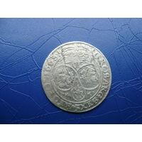 6 грошей (шостак) 1663 (1)