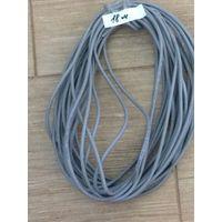 Сетевой кабель UTP5e 18 метров, не обжатый коннекторами. Компьютерный провод для подключения интернета к телевизору ByFly SmartTV, для компьютерной сети, для ПК, Смарт ТВ, видеонаблюдения.