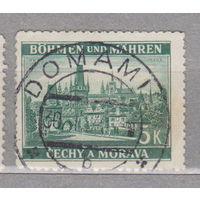 Германия Богемия и Моравия 1939 г   лот 1