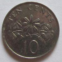 10 центов 1990 Сингапур