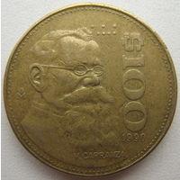 Мексика 100 песо 1990 г. (u)