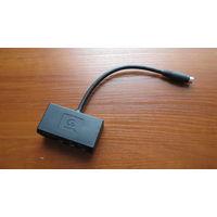 Переходник Gigabyte S-video(9-pin) - RCA(Y Pb Pr)