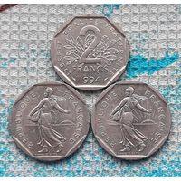 Франция 2 франка. Инвестируй выгодно в монеты планеты!