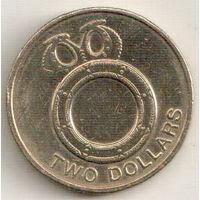 Соломоновы Острова 2 доллар 2012