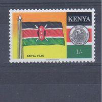 [153] Кения 1988. Флаг страны.