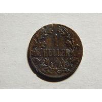 Германия Немецкая Ост Африка 1 геллер 1904г
