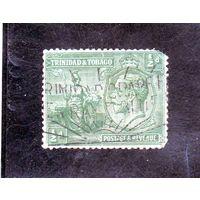 Тринидад и Тобаго. Ми-104. Британия и Король Георг VI.1922.