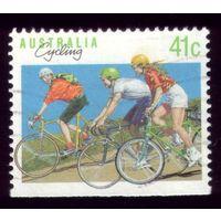1 марка 1990 год Австралия Велосипед 1214