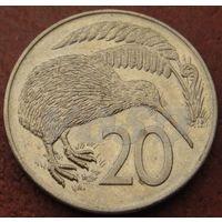 4407:  20 центов 1982 Новая Зеландия