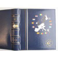 Альбом для ЕВРО монет -2. LEUCHTTURM
