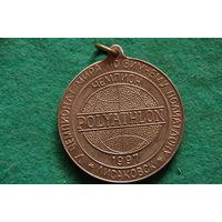Медаль спортивная ( тяжелая)
