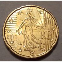 20 евроцентов, Франция 2013 г.